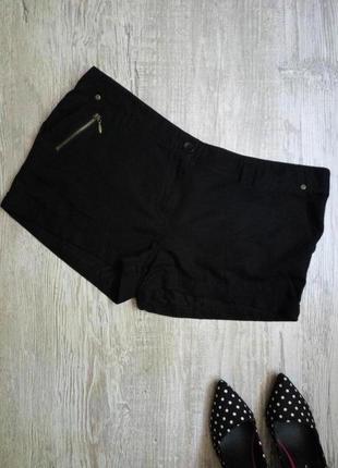 Короткие легкие шорты george размер 14