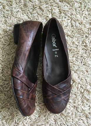 Туфли gabor comfort кожаные