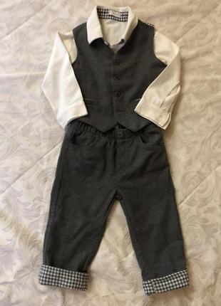 Продам детский брендовый костюм il gufo