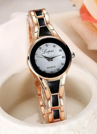 Женские часы lupai с керамическими вставками
