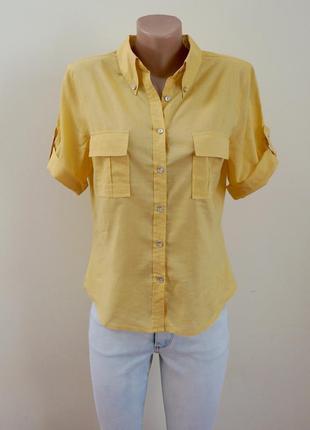Легкая хлопковая рубашка