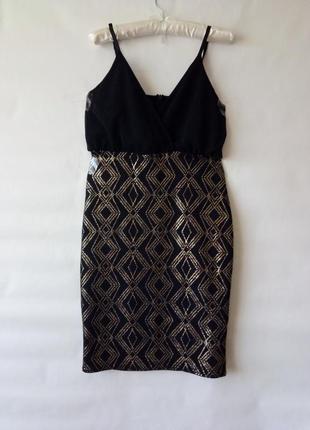 Платье коктельное вечернее new look