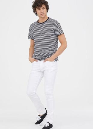 Твиловые брюки skinny fit h&m арт брюки 416157