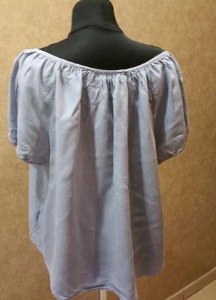 Блуза в  полоску3 фото