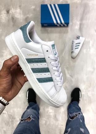 Классные белые кроссовки adidas superstar 36, 37, 38, 39, 40