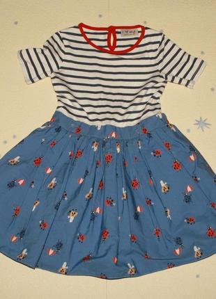 Платье next р 5 лет