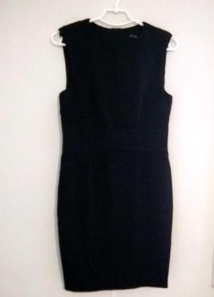 Черное, базовое  платье zara2 фото