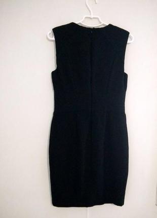 Черное, базовое  платье zara4 фото