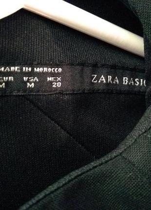 Черное, базовое  платье zara3 фото