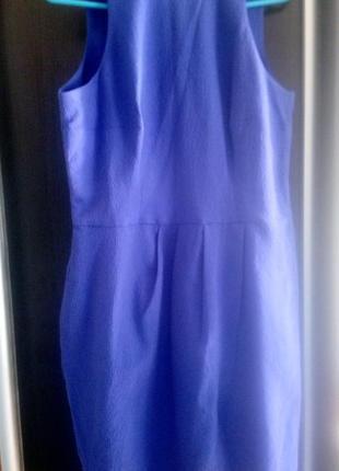 Красивое платье миди фиолетового цвета mohito