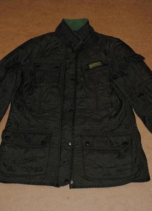 Barbour international женская куртка барбур на флисе