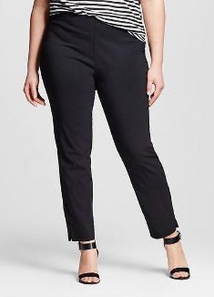 Черные брюки ,заужены немного