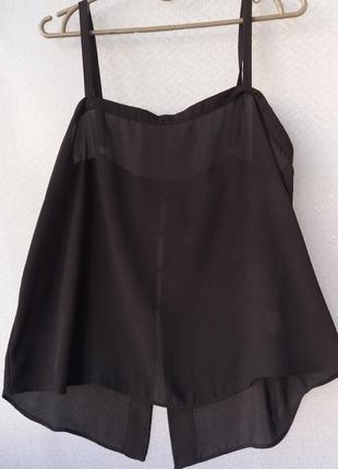 Легкая черная блузочка