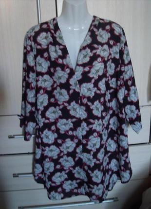 Блуза свободный крой  большой размер