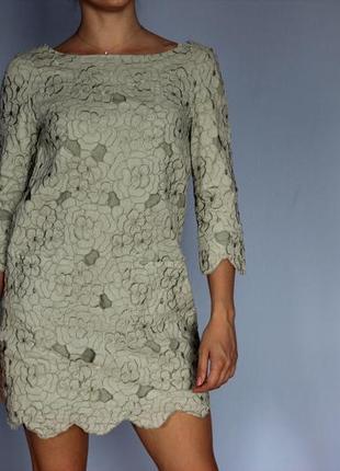 Стильное платье миди h&m