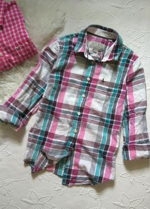 Рубашка в клетку от jack wills s