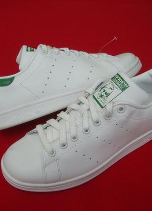 Кроссовки adidas stan smith оригинал натур кожа 42-43 размер