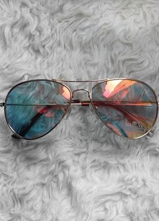 Солнцезащитные очки солнечные капли авиаторы хамелеоны
