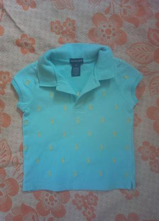 Супер футболка на девочку ralph lauren