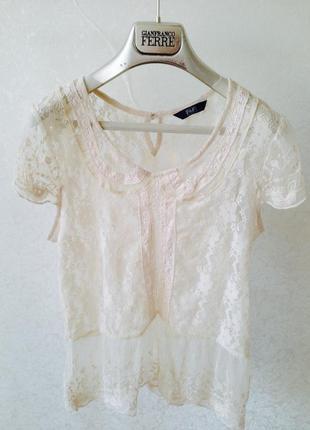 Нежная блузочка, блузка, блуза