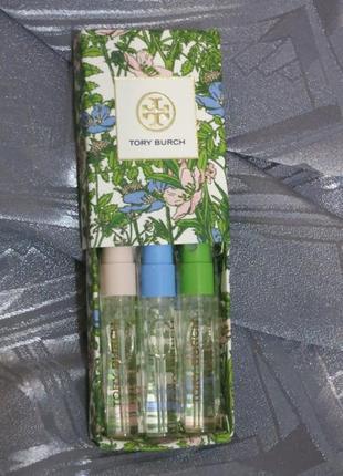 Набор парфюмов от tory burch сша - пробники спрей - оригинал! очень дешево!