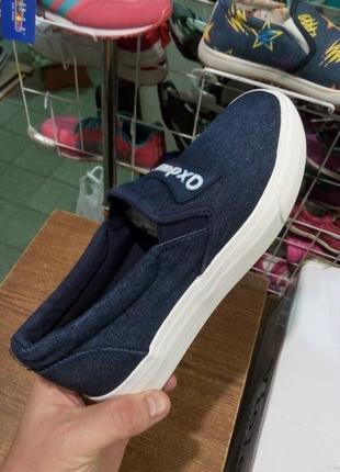 Слипоны женские высокие джинс  fashionable slip-ons ollamoda alex brend 💎