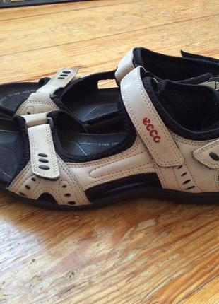 Ecco кожаные сандалии
