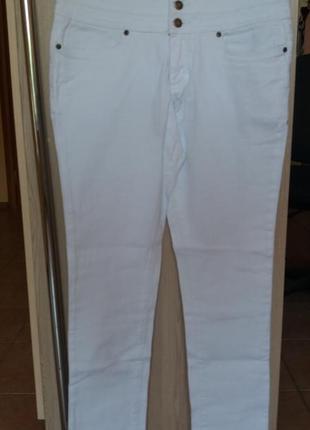 Белые джинсы john baner 42 евро