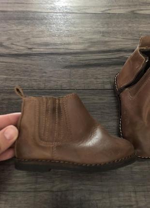 Zara детские ботиночки