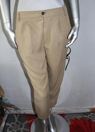 Летние брюки штаны хаки zara