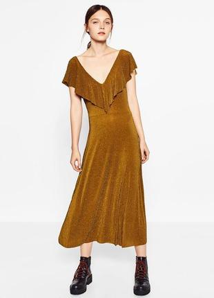 Стильное платье zara,p.s