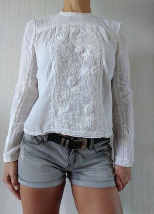 Очень красивая легкая блузка zara р s индия
