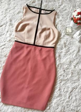 Платье loft персиковое