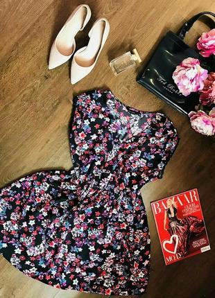 Легкое летнее цветочное платье new look m-l