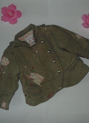 Куртка ветровка парка пиджак для девочки next