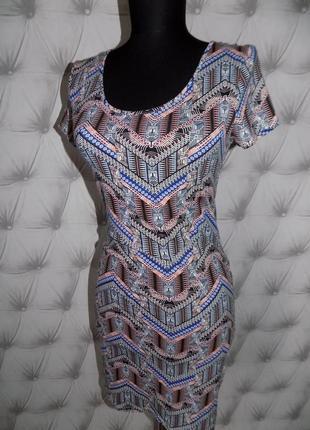 Летнее базовое платье, новое