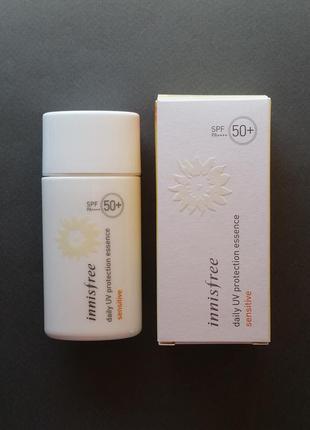 Солнцезащитная эссенция innisfree daily uv protection essence sensitive