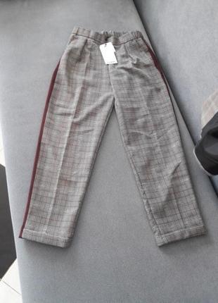 Брюки штаны брючки с лампасами