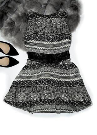 Плаття з цікавим принтом