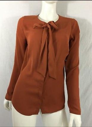 Шифоновая блуза papaya
