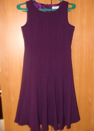 Платье фиолетовое calvin klein