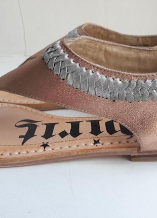 Новые полностью кожаные босоножки-сандалии spirit, р.38,54 фото