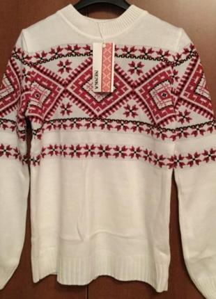 Новый теплый свитерок тм nenka