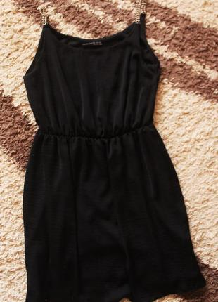 Платье на бретельках 130 грн