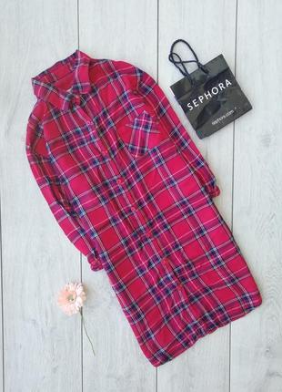 Шикарное платье рубашка размер s