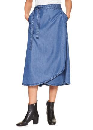 Новые, красивая, удлиненная юбка, old navy, р.м