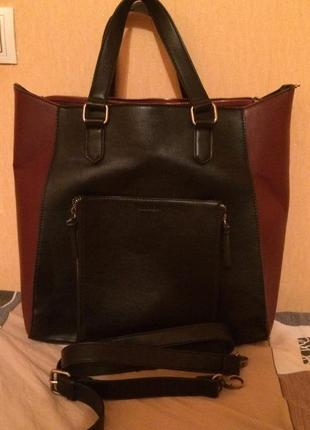 Большая сумка pull & bear