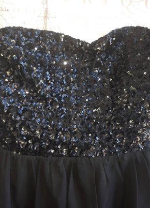 Невероятное вечернее платье с паетками   o13 распродажа3