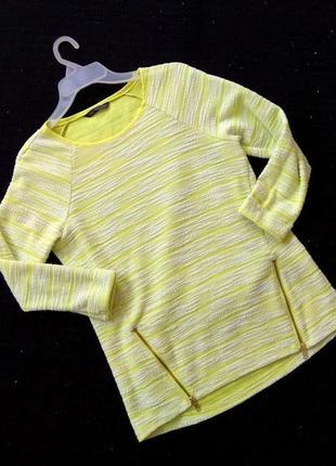 Кофточка с молниями, р-р s, реглан, свитерок, свитер