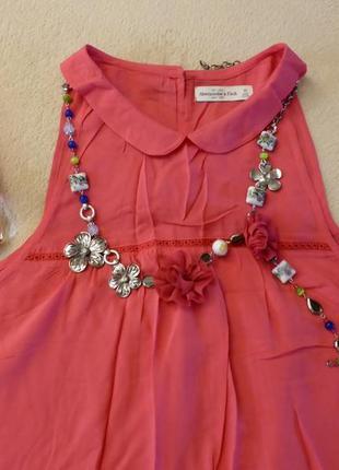 Новая невероятно воздушная блуза abercrombie &  fitch, размер м, недорого!